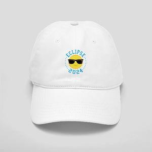 Cute Sun Eclipse 2017 Baseball Cap