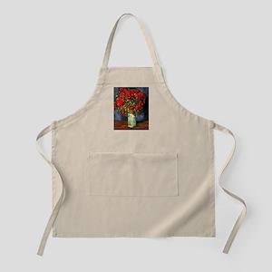 Van Gogh Red Poppies Apron