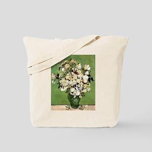 Van Gogh Roses Tote Bag