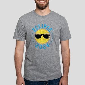 Cute Sun Eclipse 2017 Mens Tri-blend T-Shirt