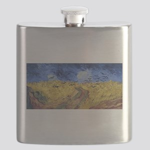 Van Gogh Wheatfield with Crows Flask