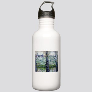 Van Gogh Flowering Orchards Stainless Water Bottle