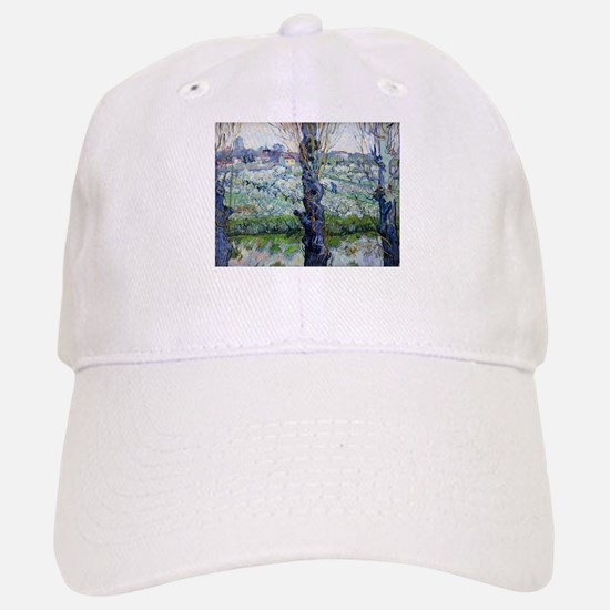 Van Gogh Flowering Orchards Baseball Baseball Cap