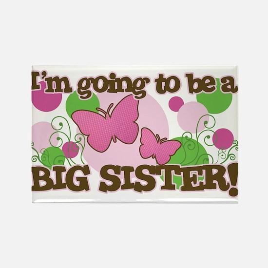 Big Sister Butterflies and Polka Dots Rectangle Ma
