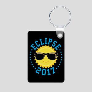 Cute Sun Eclipse 2017 Keychains