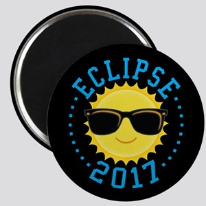 Cute Sun Eclipse 2017 Magnets