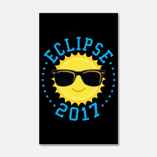 Cute Sun Eclipse 2017 Wall Decal