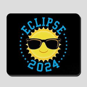Cute Sun Eclipse 2017 Mousepad