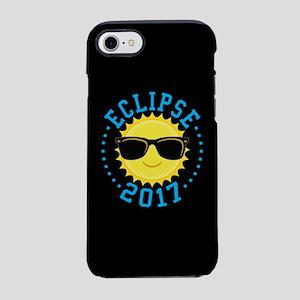 Cute Sun Eclipse 2017 iPhone 7 Tough Case