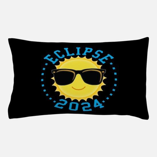 Cute Sun Eclipse 2017 Pillow Case