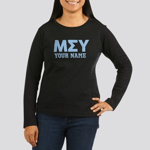Mu Sigma Upsilon Women's Long Sleeve Dark T-Shirt