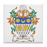 MacFingah Coat of Arms Tile Coaster