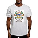 MacFingah Coat of Arms Ash Grey T-Shirt