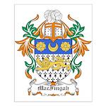 MacFingah Coat of Arms Small Poster
