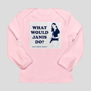 WWJD Long Sleeve Infant T-Shirt