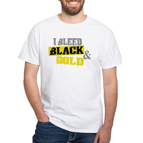 bleed black gold 2 T-Shirt