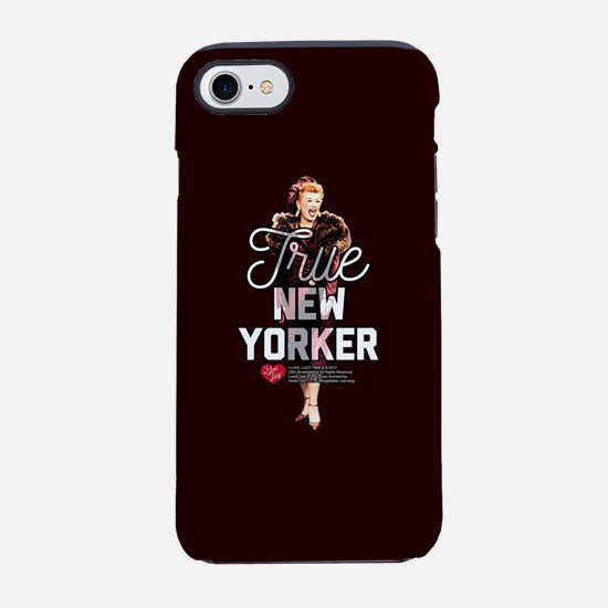 Lucy True New Yorker iPhone 7 Tough Case