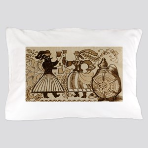The Robber and his Bride, Hungarian fo Pillow Case