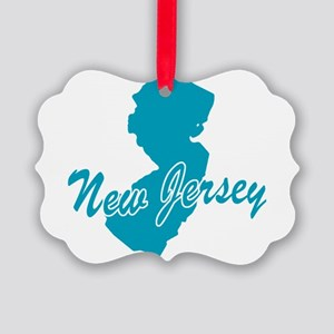 3-new-jersey Picture Ornament