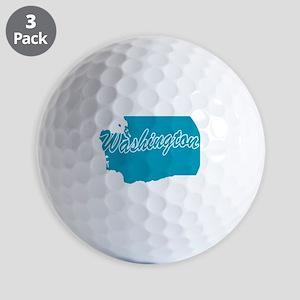 3-washington Golf Balls