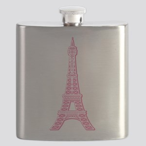 EIFFEL-TOWER-PINK Flask
