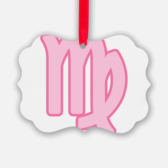 pink-zodiac-virgo.png Ornament