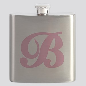 B-pink-initial_tr Flask