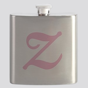 Z-pink-initial_tr Flask