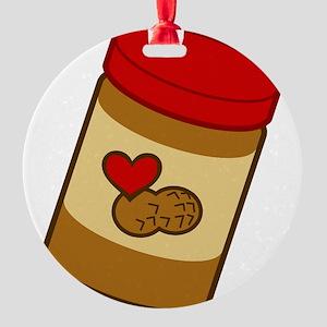 peanut-butter Round Ornament