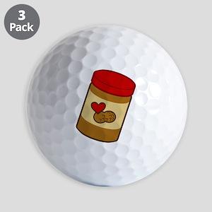 peanut-butter Golf Balls