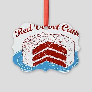 red-velvet-cake2 Picture Ornament