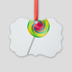 lollipop Picture Ornament