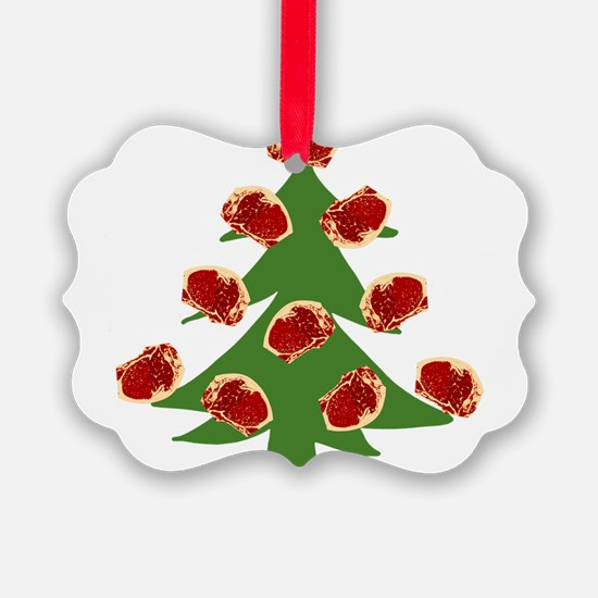 Meat Christmas Tree Ornament