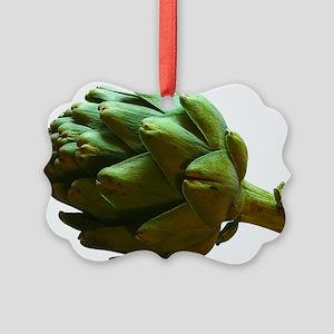 Artichoke Picture Ornament