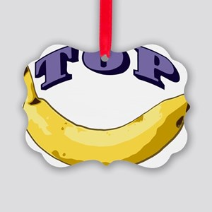 top-banana Picture Ornament