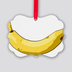 banana-side Picture Ornament