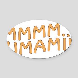 UMAMI Oval Car Magnet