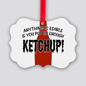 KETCHUP Picture Ornament