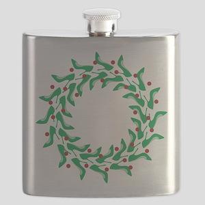 high-heel-wreath Flask