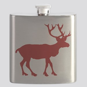 reindeer_red Flask