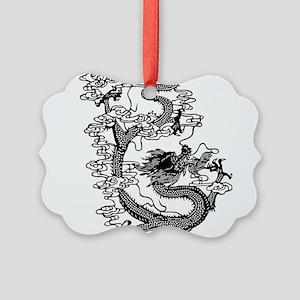 dragon_black Picture Ornament