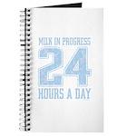 Milk In Progress Blue Journal
