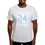 Milk In Progress Blue Ash Grey T-Shirt