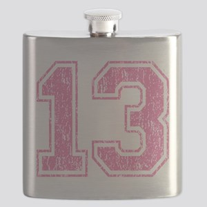 Retro 13 Number Flask