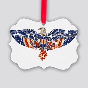 EAGLE-RETRO Picture Ornament