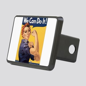 Rosie the Riveter We Can Do It Rectangular Hitch C