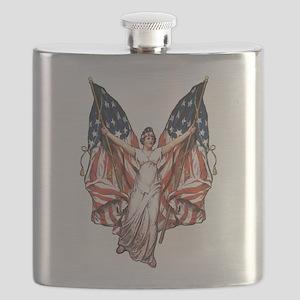 vintage-flag-bearer Flask