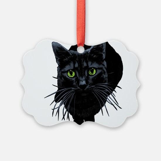 black-kitty.png Ornament