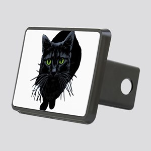 black-kitty Rectangular Hitch Cover