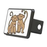 monkey-couple.png Rectangular Hitch Cover
